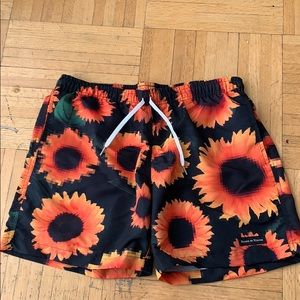 Other - Sunflower Swim Trunks
